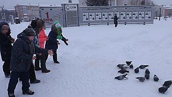 экскурсия кормление птиц 18.01.2018_1