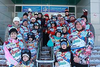 Юные кузбасские горнолыжники_4