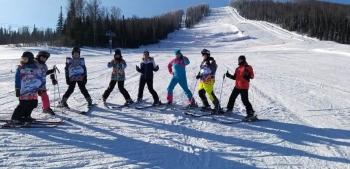 Снова на лыжне мечты!