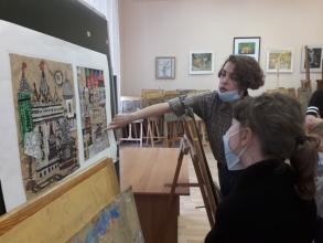 Экскурсия в художественную школу_1