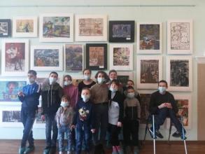 Экскурсия в художественную школу